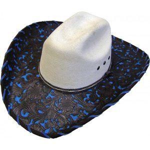 Sahuayo Truman W/ Tooled Faux Leather Unisex Hat